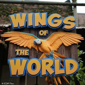 Wings of the World sign (Photo: DJJAM)