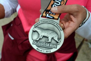 Ocelot 5K Run medal