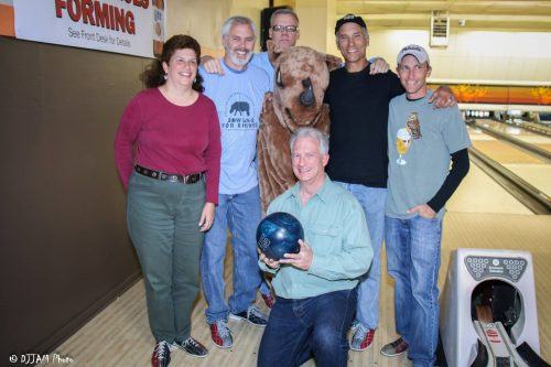 Fun times at last year's Bowling for Rhinos event!
