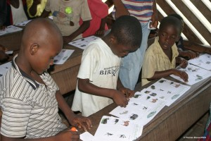 Kids participating in Club Ebobo