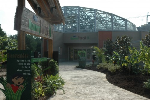 Discovery Forest exhibit entrance