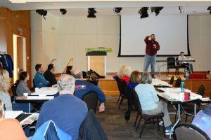 Jeff Brown talks about the importance of bats (Photo: Shasta Bray)