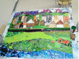 The mosaic is nearly complete.