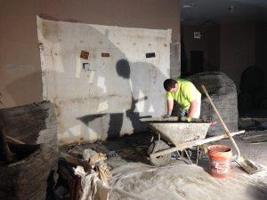 Renovation in progress (Photo: Shasta Bray)