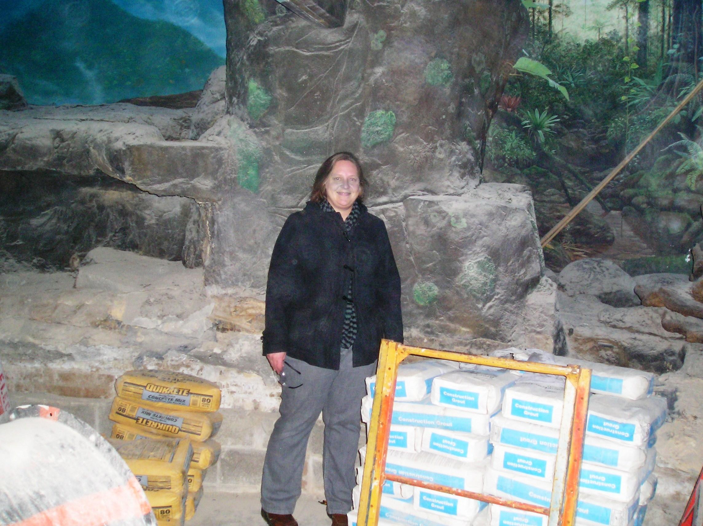 Night hunters under construction vi cincinnati zoo blog for Fishing in cincinnati