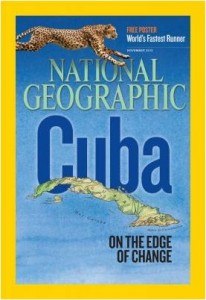 Tommy T on the cover of National Geographic