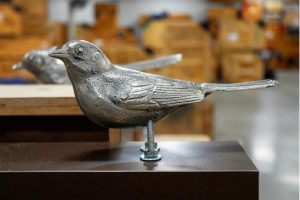 A bird statue to go in Wings of the World (Photo: Display Dynamics)