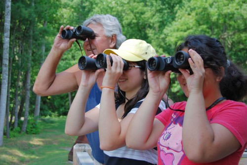 Birding is a great family activity!
