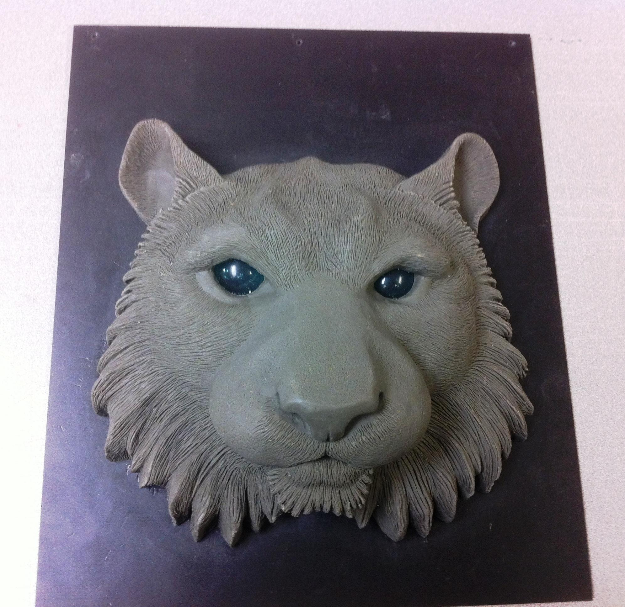 Detailed prototype of tiger face | Cincinnati Zoo Blog