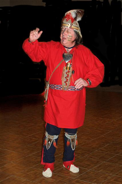 Native American storyteller, Fred Shaw