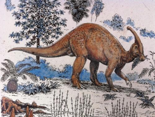 Dinosaur Garden sign