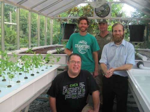 Clockwise from bottom: Kevin Savage, Cincinnati Hills Christian Academy; Adam Wyman, Elements Pro; Scott Beuerlein, Zoo Horticulture; Dan Divelbiss, Waterfields LLC.