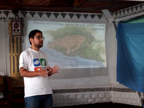 Sagar Dahal of the Small Mammals Conservation and Research Foundation presents the status of the fishing cat in Nepal.