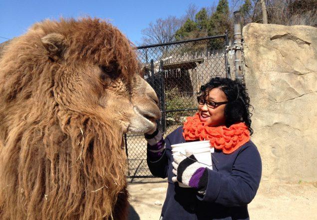 Me with Saarai (Photo: Shasta Bray)